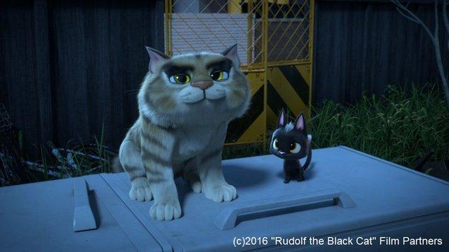رودولف گربه سیاه