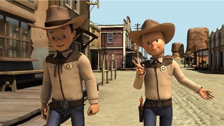 لوک و لوسی: تگزاس رنجر ( باب و بابیتی )