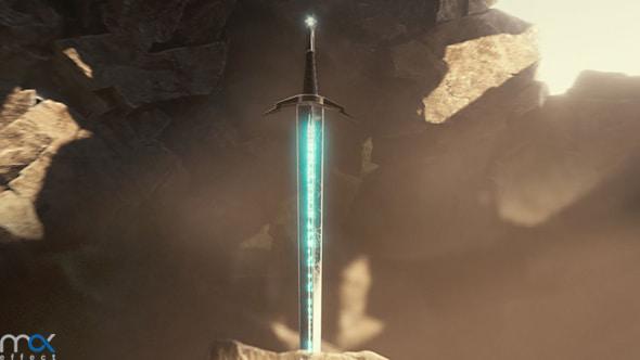 شمشیر در سنگ
