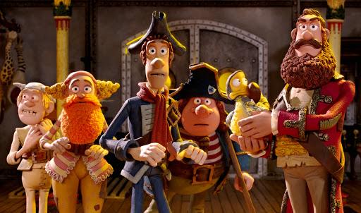 دزدان دریایی! نخالهها